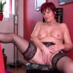 Mature Porn Video – Mature.nl – Linda (EU) (63) – GILF Linda showing off her suspenders (MP4, FullHD, 1920×1080)