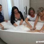 Mature Porn Video – GrandMams presents Irenka S, Ivette, Koko, Olga – Classy Bathroom Orgy – 14.07.2021 (MP4, HD, 1280×720)